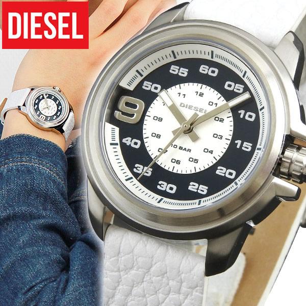【送料無料】DIESEL ディーゼル DZ1741 海外モデル メンズ 腕時計 watch ウォッチ スプロケット ホワイト 白 レザー 誕生日プレゼント 男性 卒業祝い 入学祝い ギフト