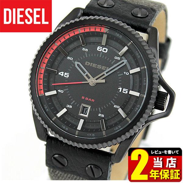 【送料無料】DIESEL ディーゼル ROLLCAGE ロールケージ DZ1728 海外モデル メンズ 腕時計 ウォッチ クオーツ アナログ 黒 ブラック デニム バンド 誕生日プレゼント 男性 ギフト