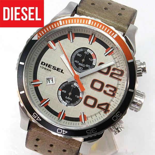 【送料無料】DIESEL ディーゼル 時計 クロノグラフ メンズ 腕時計 watch DZ4310 レザー アナログ カジュアル ブランド ウォッチ DIESEL ディーゼル 海外モデル 誕生日プレゼント 卒業祝い 入学祝い 男性 ギフト