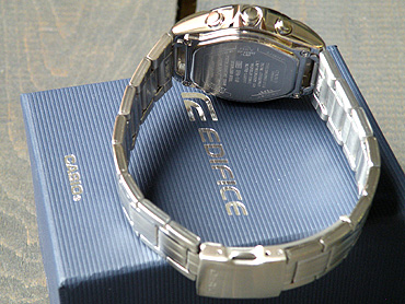 how to set time on casio edifice efa-119