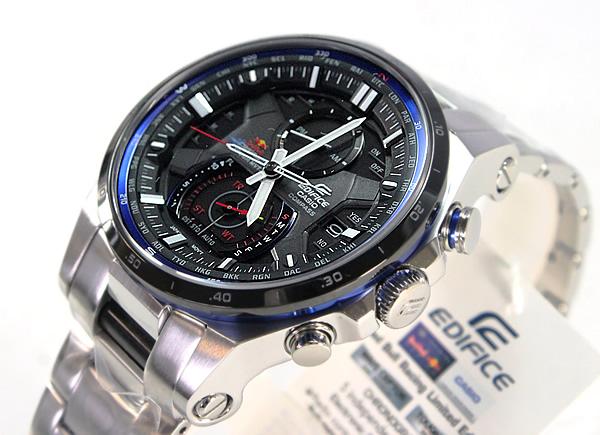 095cc8e555 CASIOEDIFICEカシオエディフィス電波ソーラーレッドブル・レーシングEQW-A1200RB-1Aメンズ腕時計時計