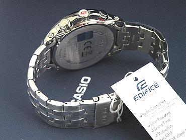 ★ 在支持CASIO卡西欧手表钟表EDIFICE edifisu并进进口商品返销进口EQW-M710DB-1A1日本未开始销售型号强壮的太阳能电波钟表世界6局电波收信的动力作为supoti的设计