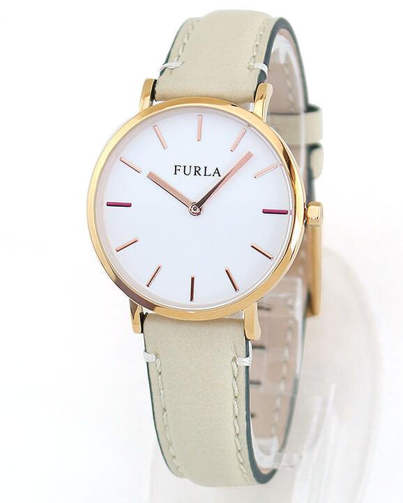 a31b7608b2fd FURLAフルラGIADAジャーダ33mmR4251108503レディース腕時計革ベルトレザーピンクゴールドローズゴールドベージュ誕生