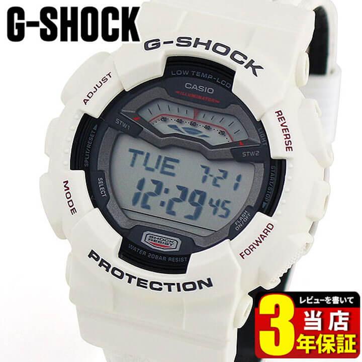 BOX訳ありCASIO カシオ 腕時計 G-SHOCK G- LIDE GLS-100-7 白 ホワイト Gショック ジーショック 海外モデル メンズ デジタル 腕時計 時計 スポーツ 商品到着後レビューを書いて3年保証 誕生日プレゼント 男性 ギフト