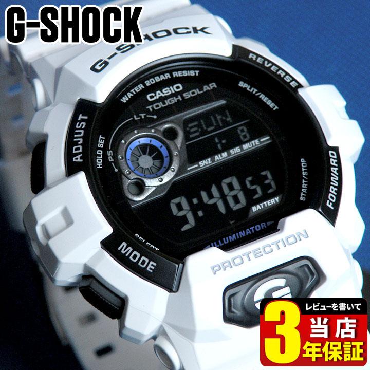【送料無料】CASIO カシオ Gショック ジーショック G-SHOCK GR-8900A-7海外モデル 腕時計 メンズ 時計 多機能 防水 デジタル 白色 タフ ソーラー ホワイト 白 商品到着後レビューを書いて3年保証 誕生日プレゼント 男性 ギフト