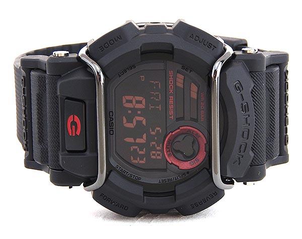 CASIO カシオ G-SHOCK Gショック ジーショック GD-400-1 海外モデル メンズ 腕時計 ウォッチ クオーツ デジタル 黒 ブラックスポーツ 商品到着後レビューを書いて3年保証 誕生日プレゼント 男性 ギフト