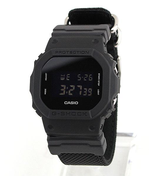 CASIO カシオ G-SHOCK Gショック ジーショック ORIGIN Military Black ミリタリーブラック DW-5600BBN-1 海外モデル メンズ 腕時計 ナイロン バンド クオーツ デジタル 黒 ブラック 誕生日プレゼント 男性 父の日 ギフト