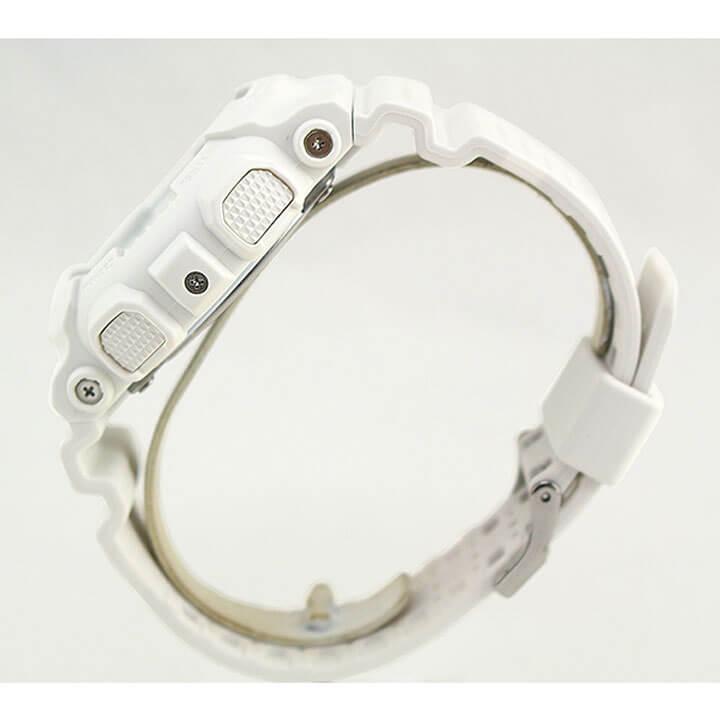 【BOX訳あり】 CASIO カシオ G-SHOCK Gショック ジーショック パンチング・パターン・シリーズ GA-110LP-7A メンズ 腕時計 白 ホワイト 海外モデル 商品到着後レビューを書いて3年保証 誕生日プレゼント 男性 ギフト