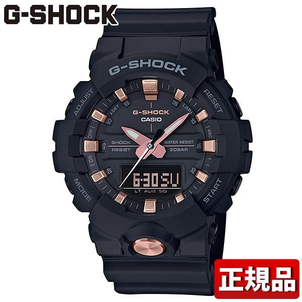 【29日9:59まで送料無料】CASIO カシオ G-SHOCK Gショック ジーショック BLACK&GOLD GA-810B-1A4JF メンズ 腕時計 ウレタン 多機能 クオーツ アナログ デジタル 黒 ブラック ピンクゴールド ローズゴールド 国内正規品