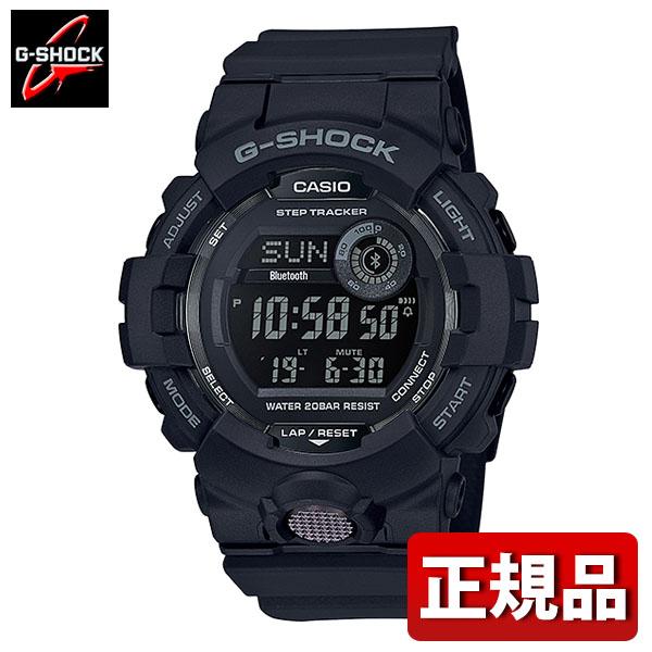 CASIO カシオ G-SHOCK Gショック ジーショック G-SQUAD ジー・スクワッド GBD-800-1BJF メンズ 腕時計 モバイルリンク機能 ウレタン 多機能 クオーツ デジタル 黒 ブラック 国内正規品