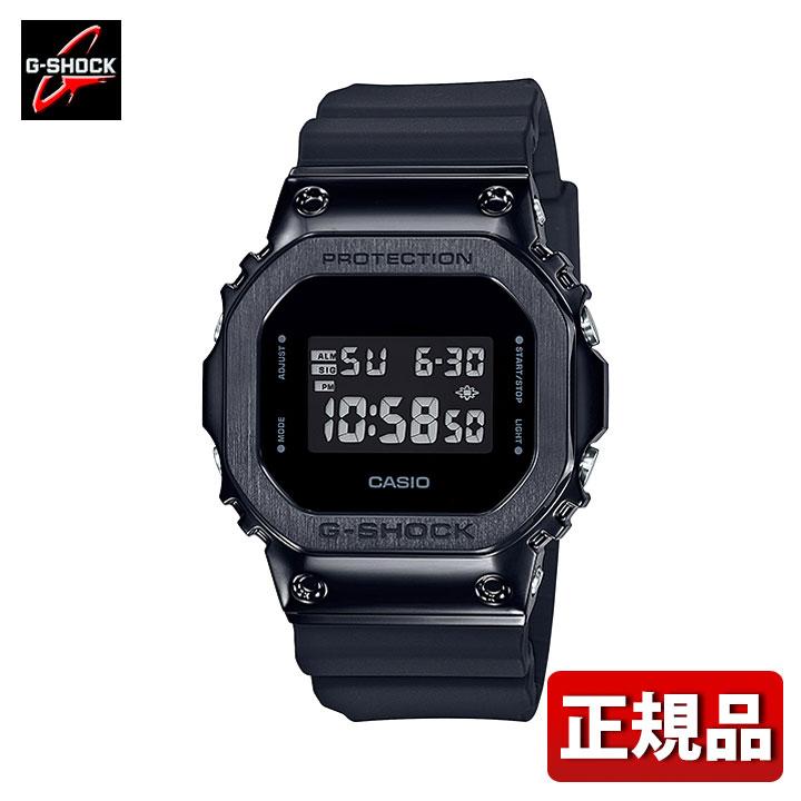 CASIO カシオ G-SHOCK Gショック ジーショック GM-5600B-1JF メンズ 腕時計 ステンレス ウレタン 多機能 クオーツ デジタル 黒 ブラック 国内正規品