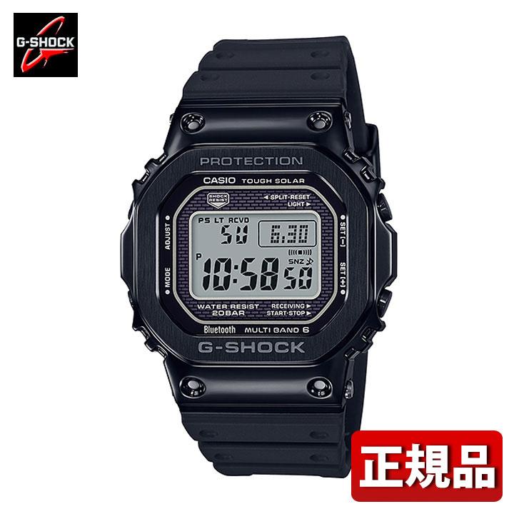 【送料無料】CASIO カシオ G-SHOCK Gショック ジーショック モバイルリンク機能 GMW-B5000G-1JF メンズ 腕時計 ウレタン 多機能 タフソーラー 電波 デジタル 黒 ブラック 国内正規品