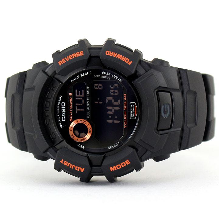 CASIO カシオ G-SHOCK Gショック ジーショック 電波 ソーラー GW-2310FB-1B4 メンズ 腕時計 ウレタン 多機能 タフソーラー デジタル 黒 ブラック オレンジ 誕生日プレゼント 卒業祝い 入学祝い 男性 ギフト 海外モデル