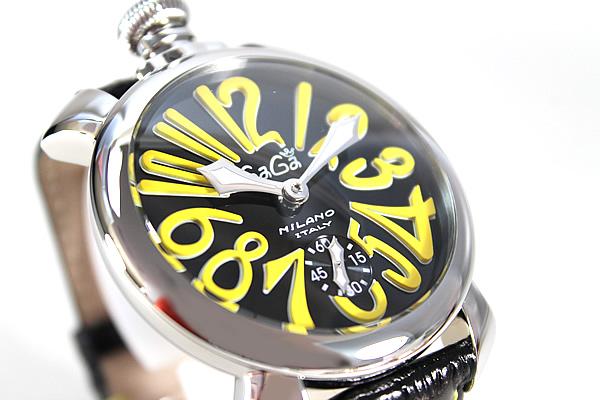 ★ 5010.12 S Gaga 米兰 GAGAMILANO 男装手表手表豪华人工 48 毫米人工海外模型