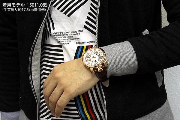 newest 62ae3 674a6 【送料無料】5011.08S【GAGA MILANO】ガガミラノ GAGAMILANO メンズ 腕時計時計 ラグジュアリー MANUALE 48MM  マヌアーレ 海外モデル 誕生日プレゼント 男性 ギフト 加藤時計店 Gショック楽天市場店