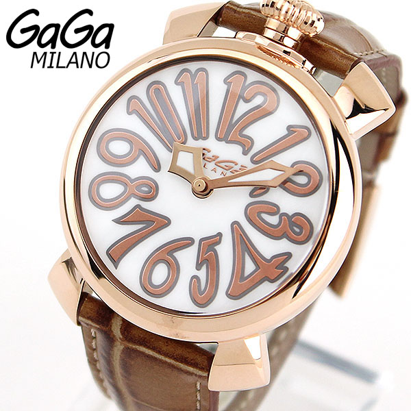 5021.2 GAGA MILANO ガガミラノ GAGAMILANO 腕時計時計 MANUALE 40MM マヌアーレ 海外モデル レザーベルト 新品