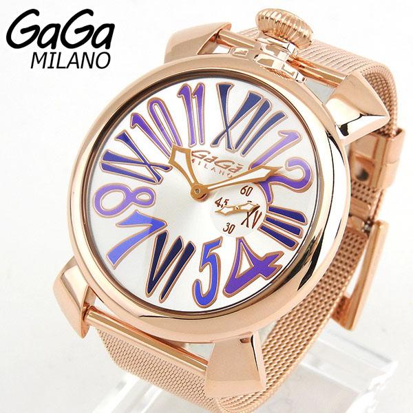 GAGA MILANO ガガミラノ MANUALE SLIM マヌアーレ スリム 46mm 5081-3 5081.3 海外モデル メンズ 腕時計 ウォッチ 新品 誕生日プレゼント 男性 バレンタイン ギフト