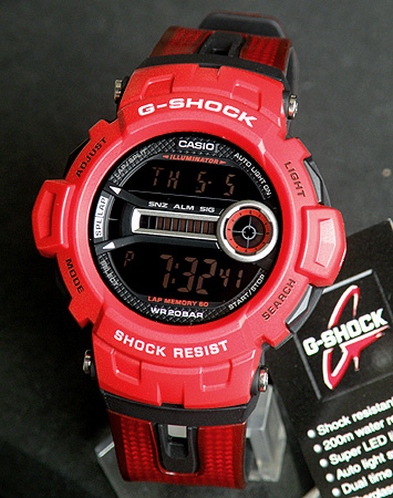 e65b2948125bc Casio G shock GD-200-4 overseas band light and tough new light High  Brightness LED backlight mens watch men s watches watch
