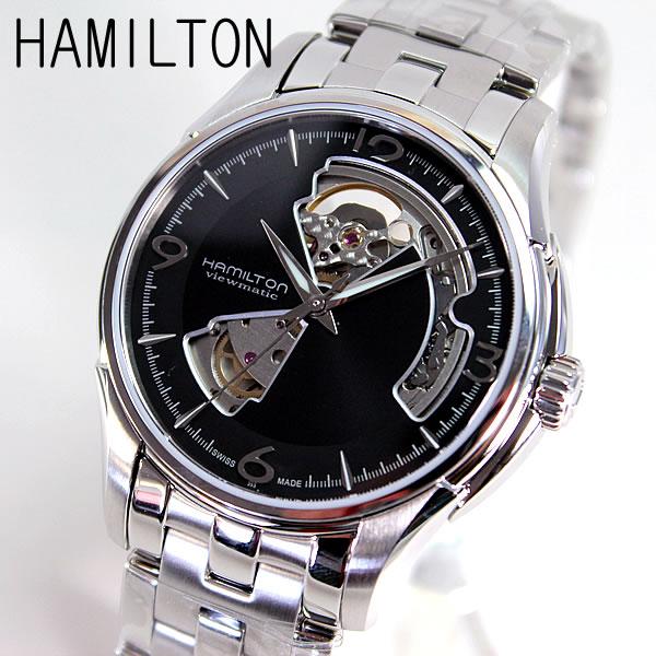 【クーポンで2000円OFF!16日1:59まで】【送料無料】ハミルトン HAMILTON H32565135 Jazzmaster Auto Open heart ジャズマスター オート オープンハート メンズ 腕時計メタルバンド 誕生日プレゼント 男性 卒業祝い 入学祝い ギフト