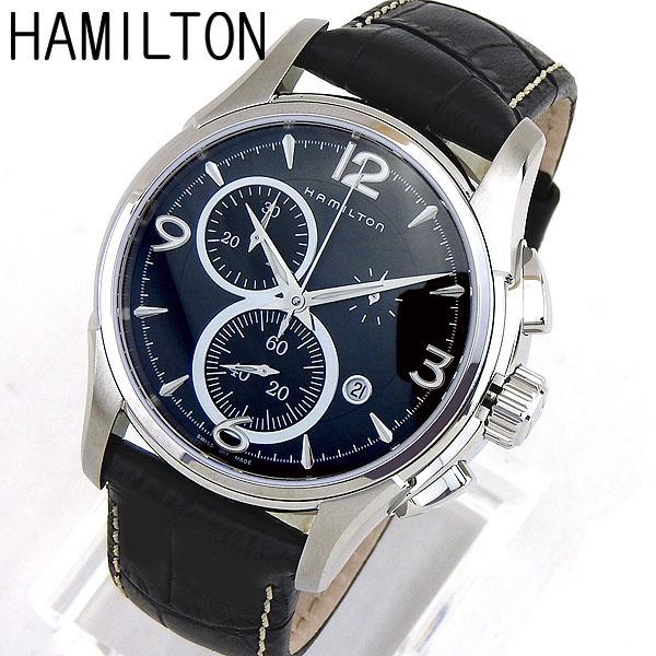 【クーポンで2000円OFF!12/11 1:59まで】【送料無料】HAMILTON ハミルトン 腕時計時計 H32612735 スイス製クオーツ AMERICAN CLASSIC アメリカンクラシック Jazzmaster Chrono ジャズマスタークロノ クロノグラフ/デイト日付 カレンダー付き