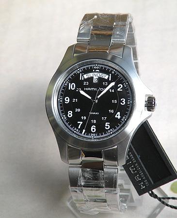 【BOX訳あり・ラッピング済み】【送料無料】ハミルトン HAMILTON KHAKI KING カーキキング メンズ 腕時計 時計 H64451133 海外モデル 誕生日プレゼント 男性 ギフト