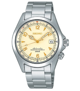!! 供SEIKO机械山间途步使用的表登山运动员SARB013精工手表