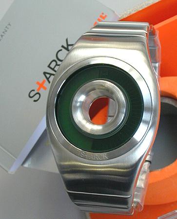★ 菲利普斯塔克与化石 PH1108 银甜甜圈看科茨男式手表手表