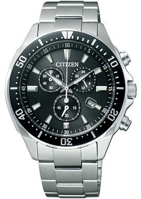 【先着!250円OFFクーポン】CITIZEN シチズン 腕時計 時計 ALTERNA オルタナ VO10-6771F エコ・ドライブ クロノグラフ メンズ 誕生日プレゼント 男性 ギフト