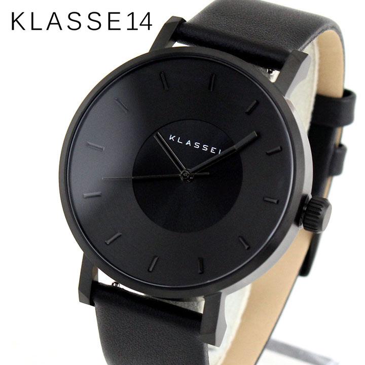Klasse14 クラス14 KLASSE14 VO14BK002M 海外モデル メンズ レディース 腕時計 革ベルト レザー