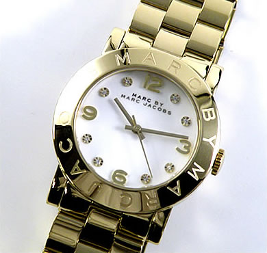 【送料無料】マーク バイ マーク ジェイコブス MARC BY MARC JACOBS Amy エイミー MBM3056 レディース 腕時計 イエローゴールド 白 ホワイト 誕生日プレゼント 女性 卒業祝い 入学祝い ギフト