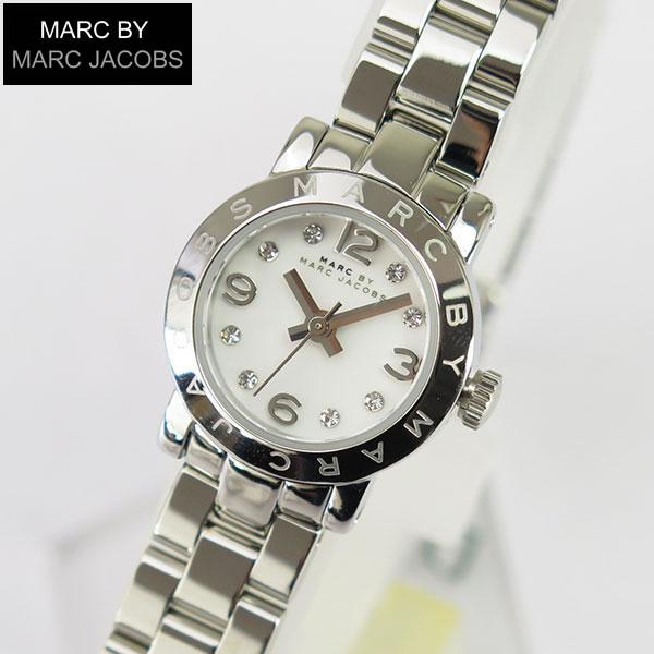 【送料無料】 マーク バイ マーク ジェイコブスMARC BY MARC JACOBS MBM3225 海外モデル マークバイマーク Amy Dinky エイミー ディンキー レディース腕時計 時計 シルバー 白 ホワイト 誕生日プレゼント 女性 ギフト