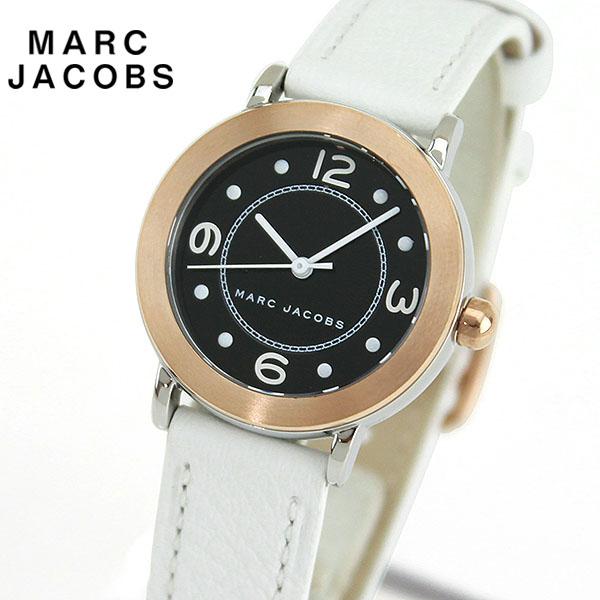 【先着!250円OFFクーポン】MARC JACOBS マークジェイコブス RELEY ライリー MJ1517 海外モデル レディース 腕時計 ウォッチ 革ベルト レザー アナログ 黒 ブラック 白 ホワイト 誕生日プレゼント 女性 ギフト