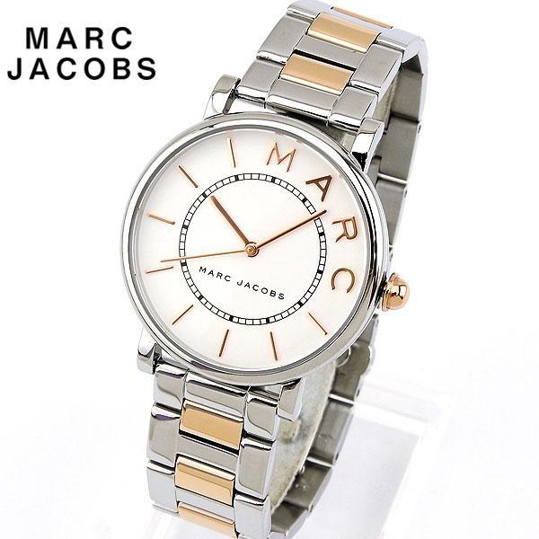 【送料無料】Marc Jacobs マーク ジェイコブス ROXY ロキシー レディース 腕時計 メタル クオーツ アナログ ピンクゴールド ローズゴールド 銀 シルバー 誕生日プレゼント 女性 クリスマス ギフト MJ3551 海外モデル