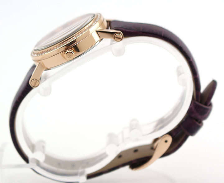 MICHAEL KORS マイケルコース PETITE NORIE プチノリー MK2608 レディース 腕時計 革ベルト レザー クオーツ ピンクゴールド ローズゴールド ワインレッド 海外モデル 卒業祝い 入学祝い