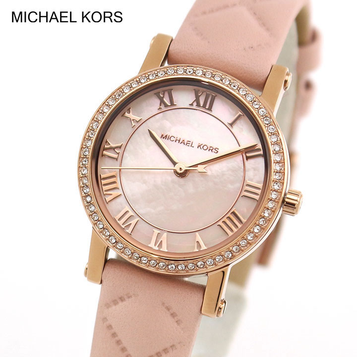 MICHAEL KORS マイケルコース レディース 腕時計 時計 クオーツ アナログ ゴールド ピンク 誕生日プレゼント 女性 ギフト MK2683 海外モデル ブランド