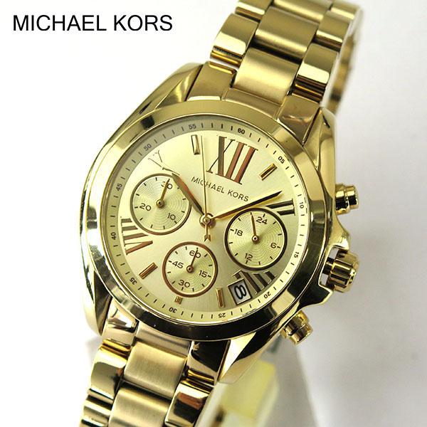 本体ベゼル訳あり【送料無料】MICHAEL KORS マイケルコース MK5798 海外モデル レディース 腕時計時計クオーツ 金 ゴールド 誕生日プレゼント 女性 ギフト