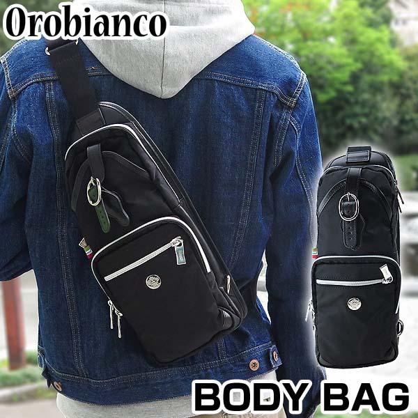 【送料無料】OROBIANCO オロビアンコ ANNIBALE-F VIT-NERO-99 アンニバル ウエストポーチ ウエストバッグ ボディバッグ ショルダーバッグ カバン かばん 鞄 メンズ 黒 ブラック 海外モデル 誕生日プレゼント 男性 ギフト