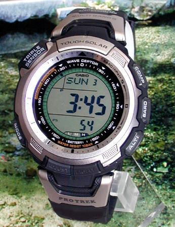 【送料無料】CASIO カシオ PROTREKプロトレック メンズ 腕時計 時計 PRW-1300-1 海外モデル 電波 タフ ソーラー 電波時計 アウトドアウォッチ 誕生日プレゼント 男性 ギフト