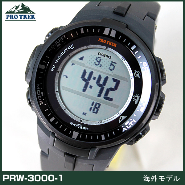e05637aca5 腕時計 時計 電波 CASIO ソーラー PRW-3000-1AJF プロトレック メンズ 新品 マルチバンド6 カシオ ...