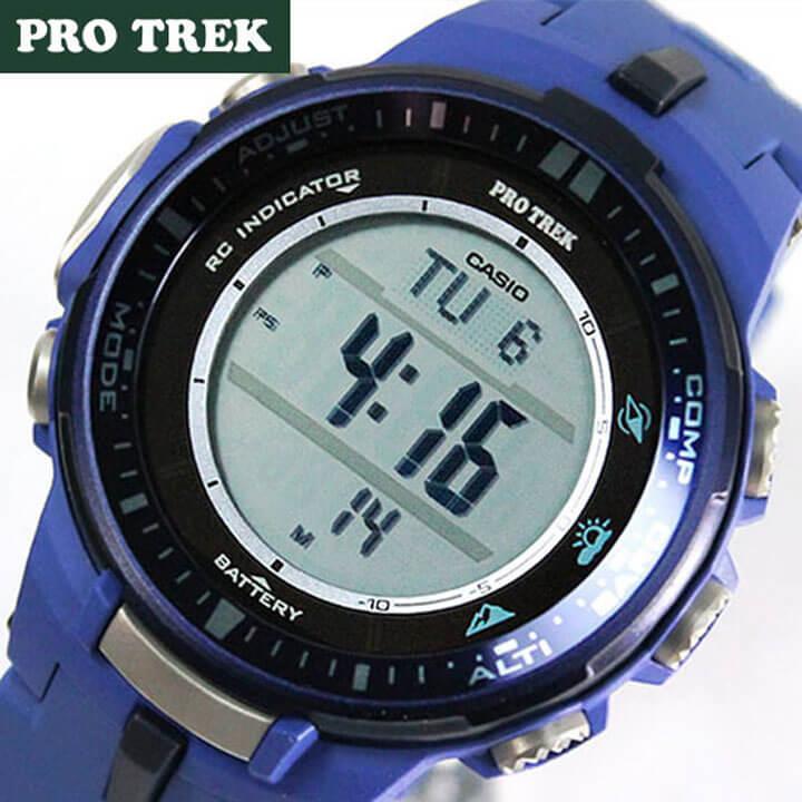 838e363a17 【レビューを書いて☆送料無料】CASIOPROTREKPROTREKカシオプロトレックレディースメンズ腕時計