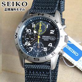 【先着!250円OFFクーポン】SEIKO セイコー 逆輸入 ミリタリークロノグラフ メンズ 腕時計 SND379R SND379P2 正規海外モデル 日本製ムーブメント 誕生日プレゼント 男性 ギフト