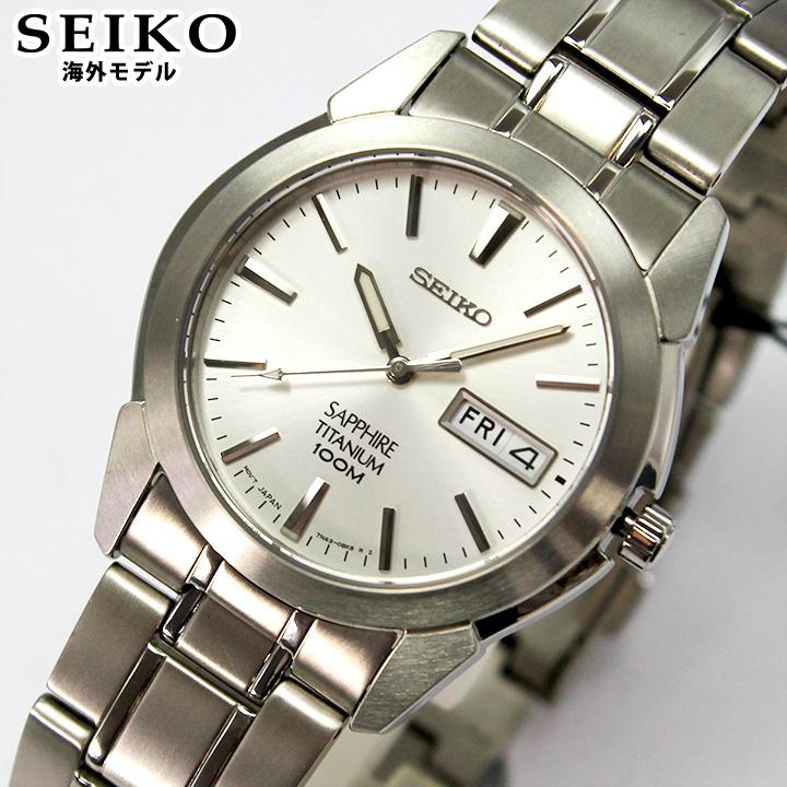 【先着!250円OFFクーポン】SEIKO セイコー 腕時計 メンズ 時計 アナログ SGG727P1 シルバー ホワイト 海外モデル 逆輸入 誕生日プレゼント 男性 ギフト