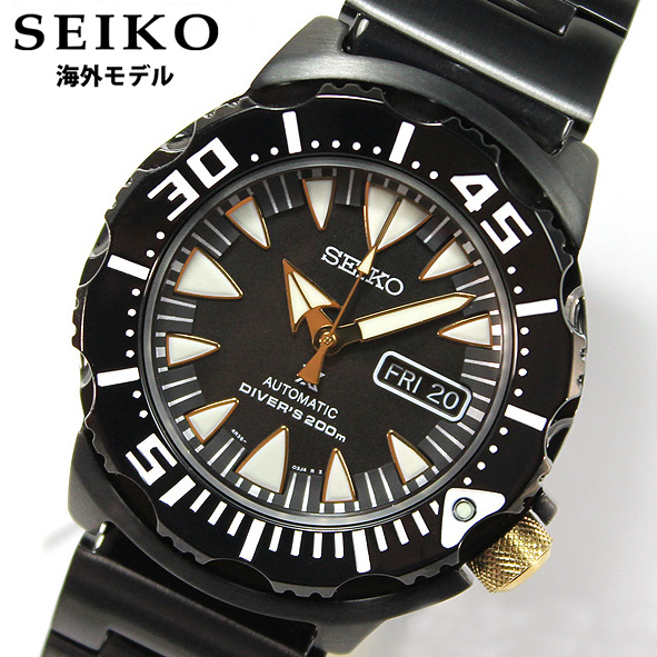 【送料無料】SEIKO セイコー PROSPEX プロスペックス Divers ダイバーズウォッチス SRP583K1 自動巻き オートマチック メンズ 腕時計 時計海外モデル 並行輸入品 ブラック 黒 ダイバーズウォッチ 逆輸入 誕生日プレゼント 男性 ギフト