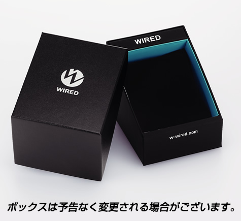 ★ SEIKO WIRED byTomokiSukezane计时仪型号AGAV014人手表钟表精工WIRED