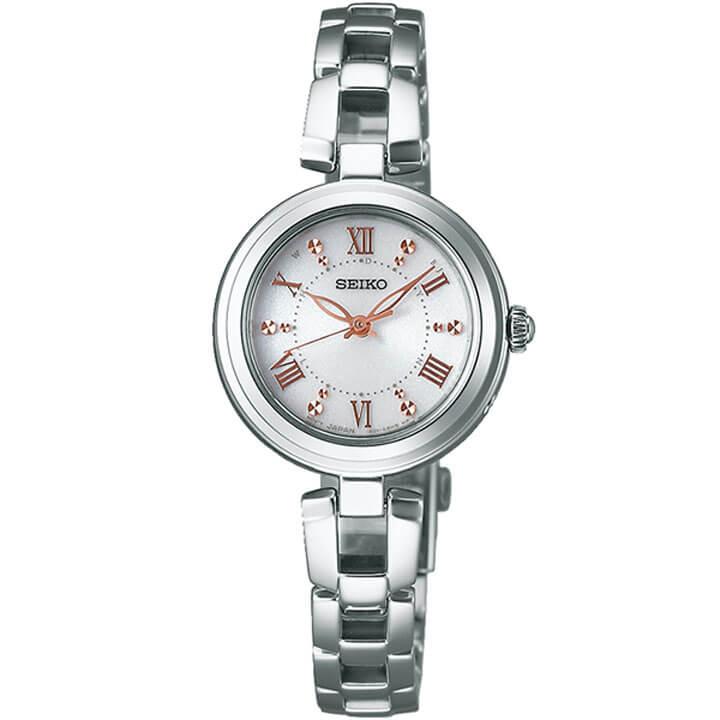 【】 SEIKO セイコー セイコーセレクション レディース 腕時計 電波ソーラー SWFH089 メタル ホワイト ピンクゴールド国内正規品 商品到着後レビューを書いて7年保証 誕生日プレゼント 女性 ギフト