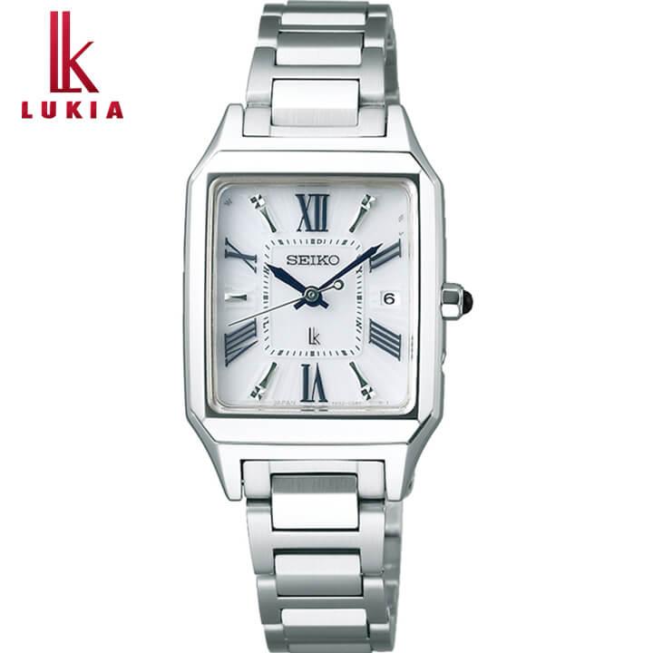 SEIKO セイコー LUKIA ルキア リニューアルモデル レディース 腕時計 白 ホワイト 銀 シルバー 誕生日 女性 ギフト プレゼント SSVW159 国内正規品 商品到着後レビューを書いて7年保証 新社会人