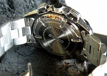 正做式样作为SEIKO点火SBHN001轻量的纯钛的10气压防水/计时仪