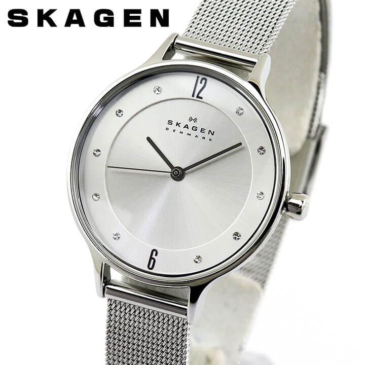 SKAGEN スカーゲン ANITA アニータ SKW2149 レディース 北欧 腕時計 メタル クオーツ アナログ 銀 シルバー 海外モデル 誕生日プレゼント 女性 ギフト ブランド
