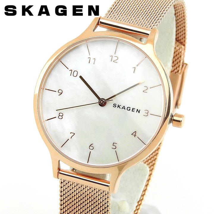 【送料無料】SKAGEN スカーゲン レディース 北欧 腕時計 バンド メタル シルバー 金 ゴールド クオーツ アナログ SKW2633 海外モデル 誕生日プレゼント 女性 卒業祝い 入学祝い ギフト