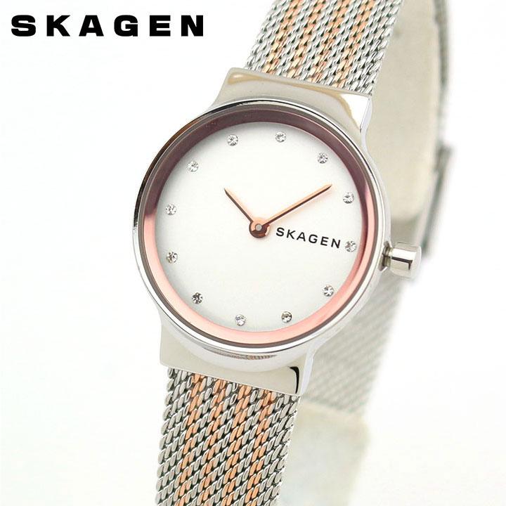 SKAGEN スカーゲン フレジャ SKW2699 レディース 腕時計 メタル 金 ピンクゴールド 銀 シルバー 誕生日プレゼント 女性 ギフト 海外モデル